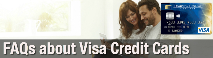 Visa Credit Cards for Canada FAQs